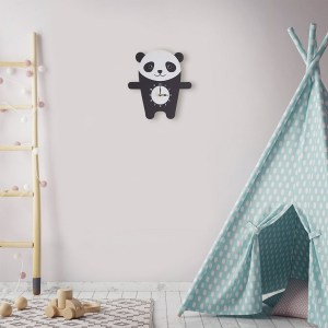 A great gift and a lovely addition to any nursery or bedroom, the Penny The Panda Wall Clock is a great way of helping children learn to tell the time whilst offering a stunning wall decoration.