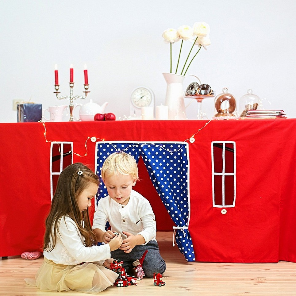 Christmas Tale Tablecloth Playhouse