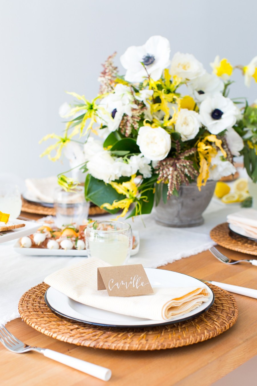 Impress your guests before they even start their meal. Bookmark these ideas for your next dinner party!