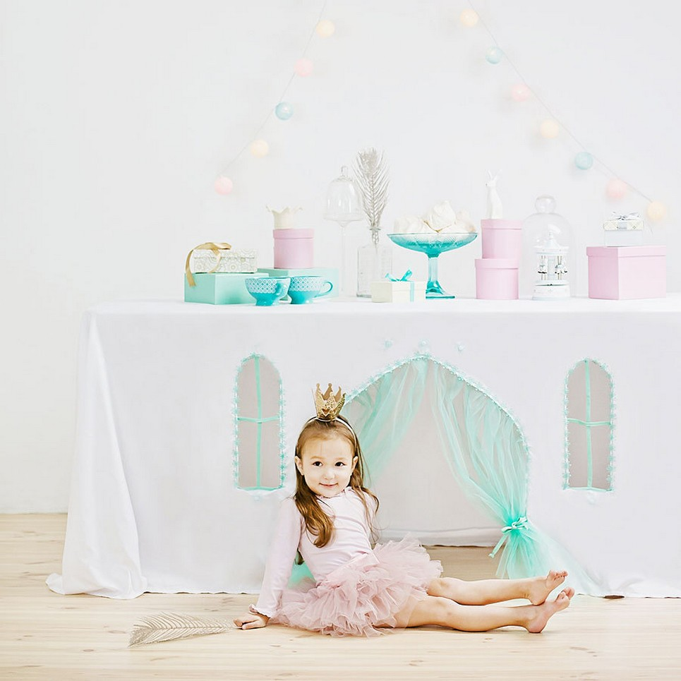 Frozen Tablecloth Playhouse