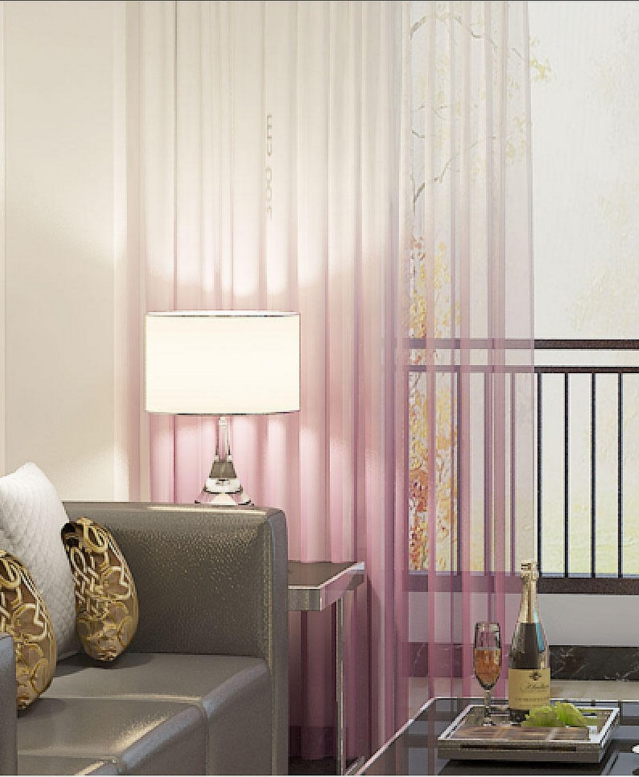 Curtains can be the subtle, barely noticeable element in the room, or they can be the eye-catching element that strongly defines the rest of the interior.