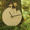 With a sophisticated and functional look, the Bird Wooden Wall Clock will add an element of starry spirit to any room.