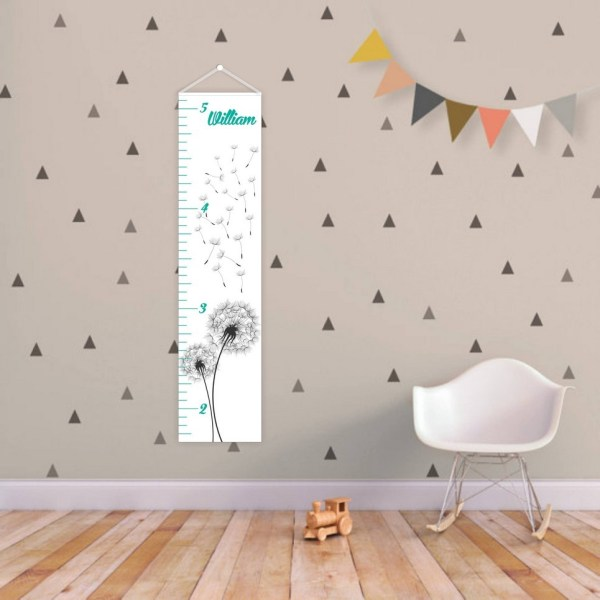 Dandelion Personalised Baby Growth Chart – 1