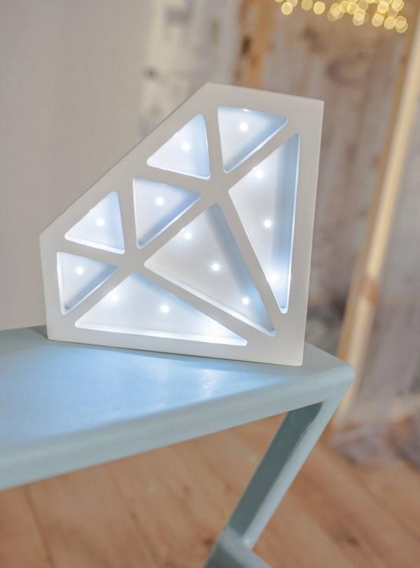 Diamond Decorative Night Light – 5