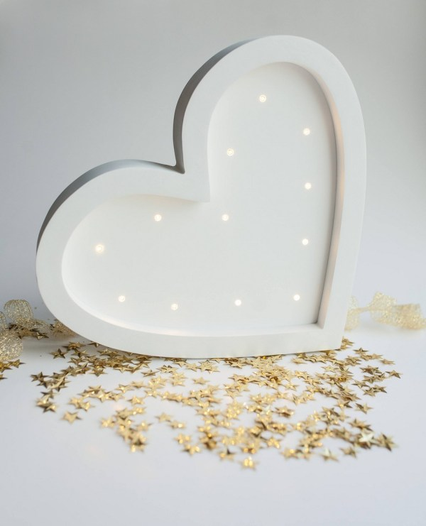 Heart Decorative Night Light – 2