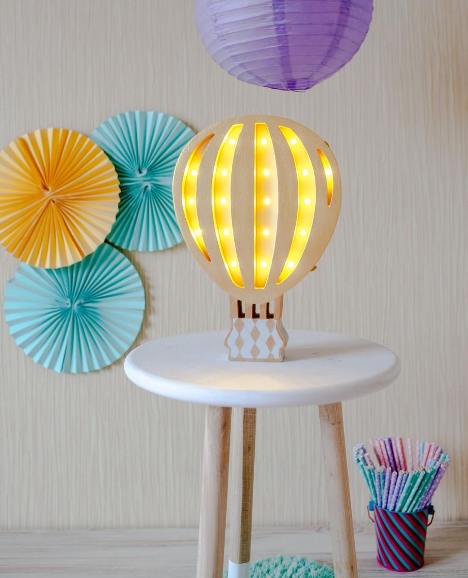Hot Air Balloon Decorative Night Light – 1