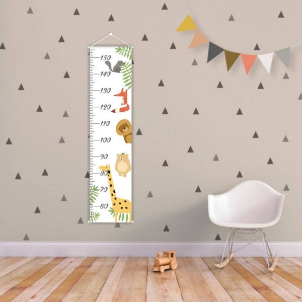 Tropical Forest Personalised Baby Growth Chart