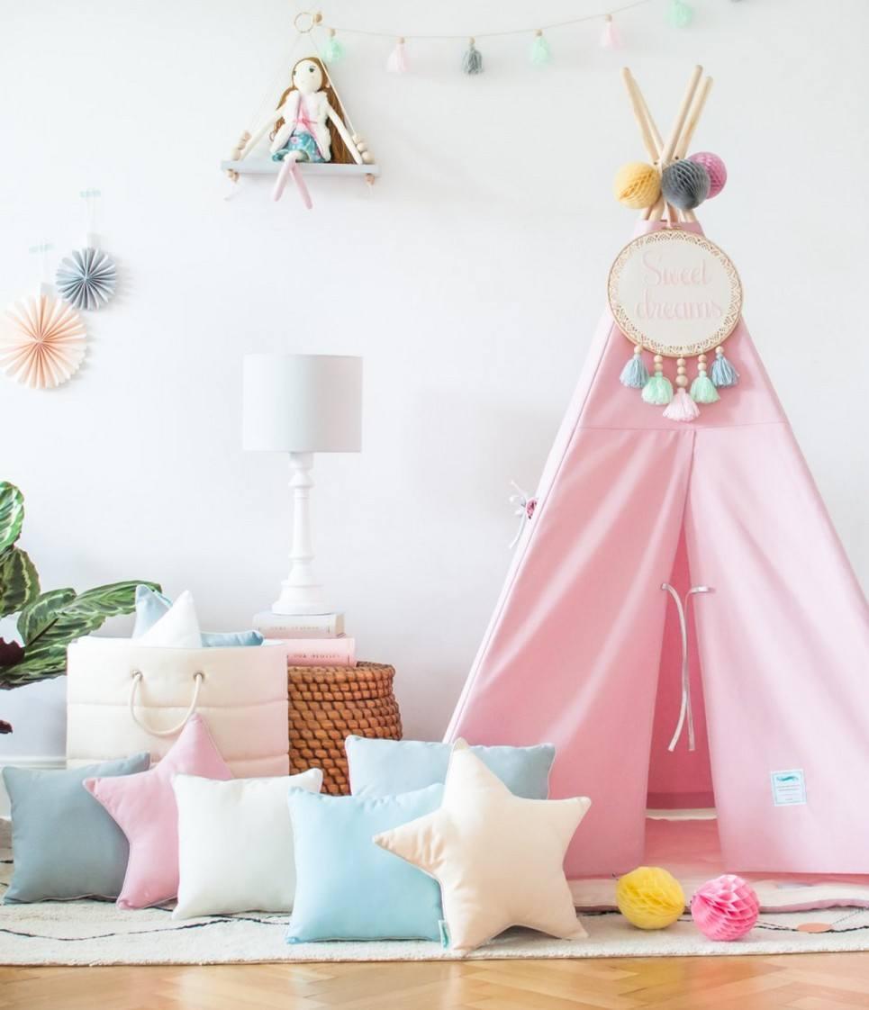 Classic Pink Children's Teepee