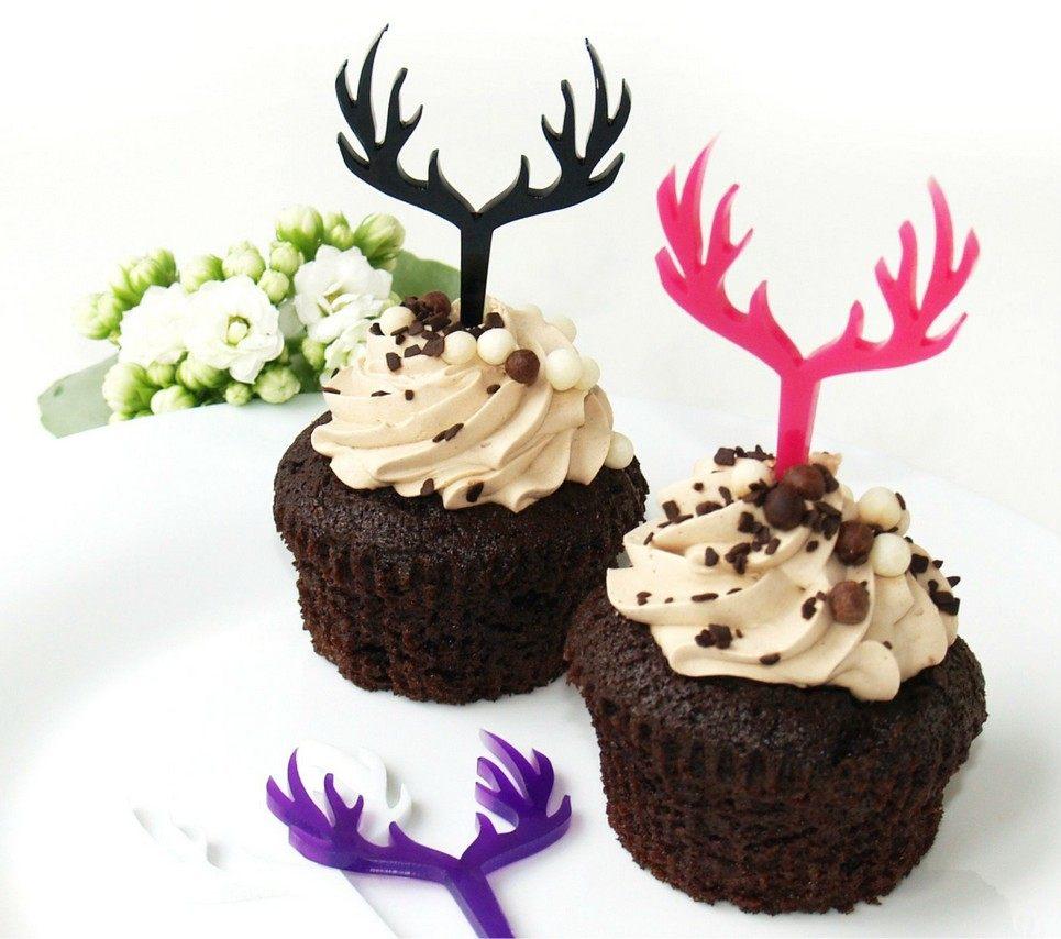 Deer Cupcake Topper – 5