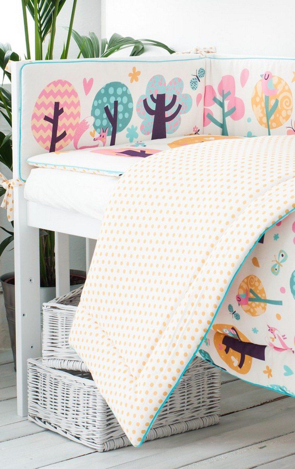Owl Tales Crib Bumper – 3