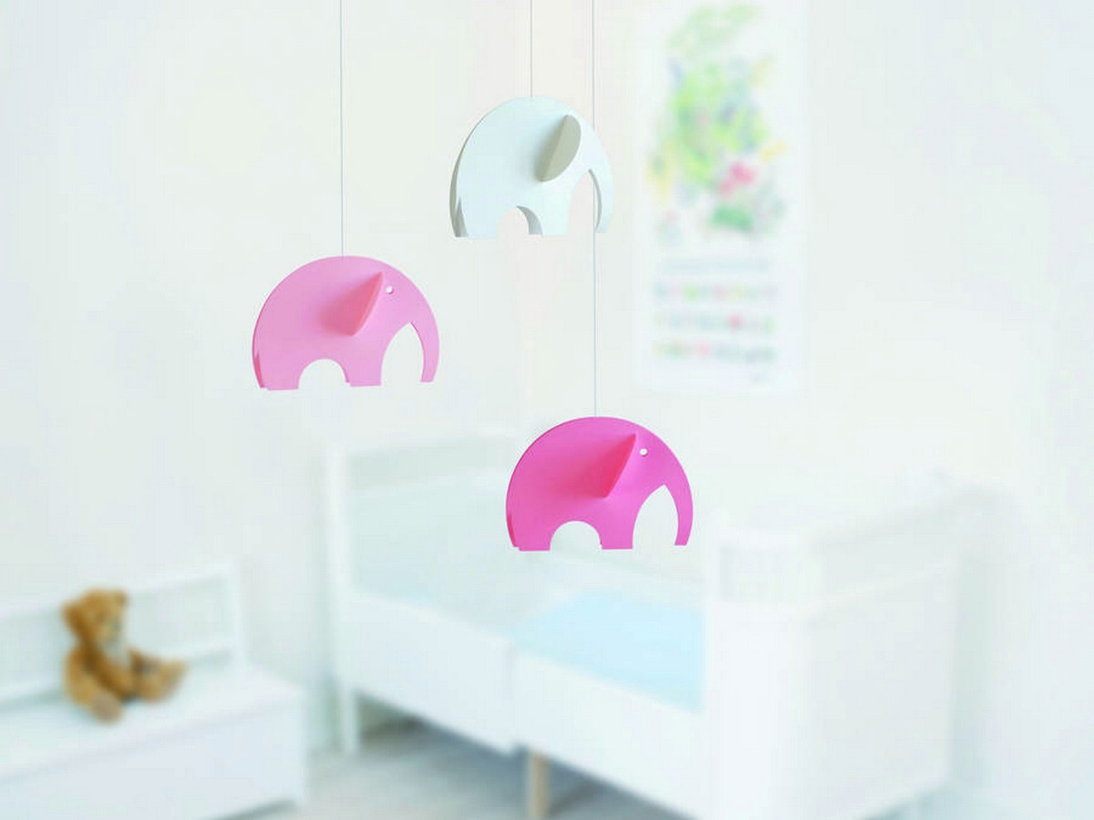 A baby mobile can make a wonderful gift or a great project for expecting parents.