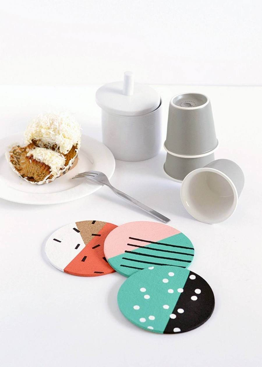 Does the world need any more DIY coasters? Yes, it does! Simply because it's a great project to take on even if you're a beginner.