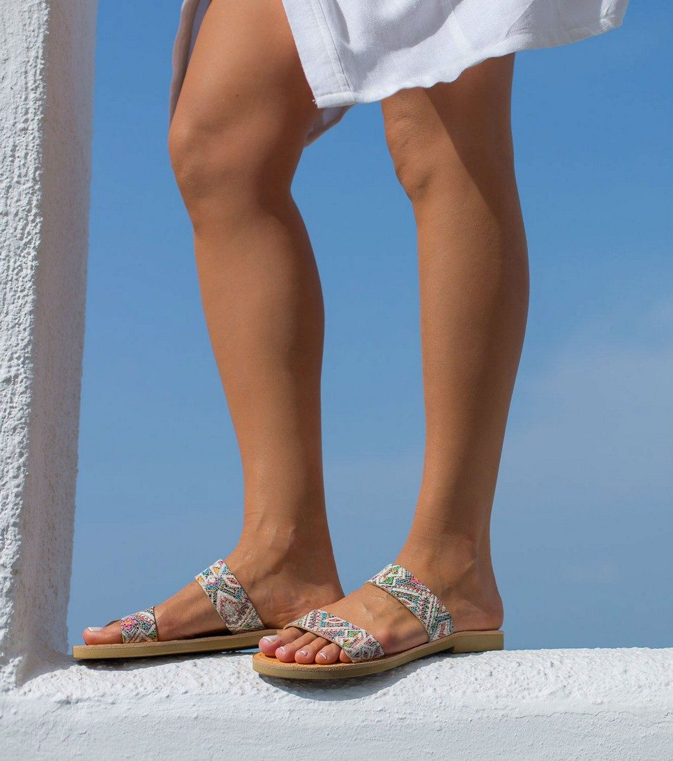 Xanthe Totem Greek Leather Sandal – 6