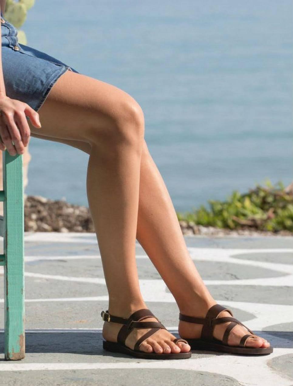 Ifigeneia Greek Leather Sandal – 4