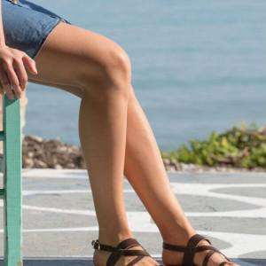 Just what every summer wardrobe needs, the Ifigeneia Greek Leather Sandal is every woman's dream pair, super comfy and elegant, and easily combined with any outfit.
