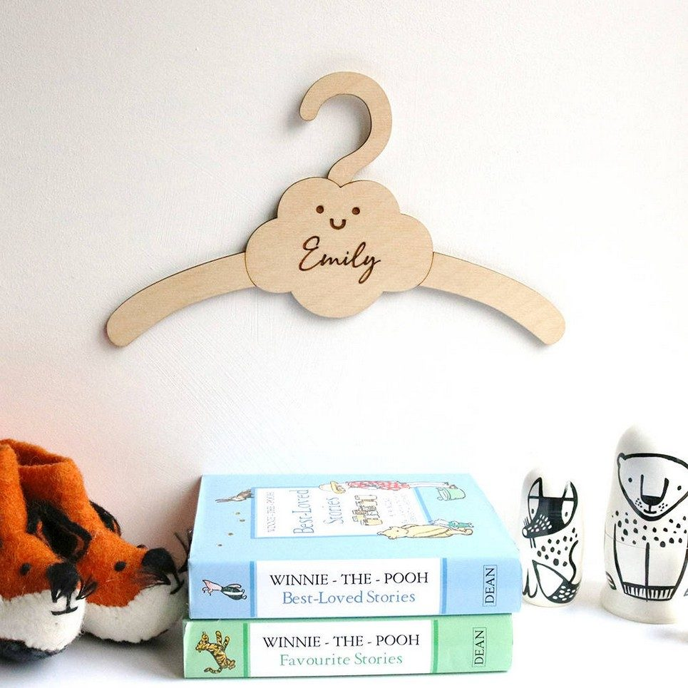 Little Cloud Baby Coat Hanger