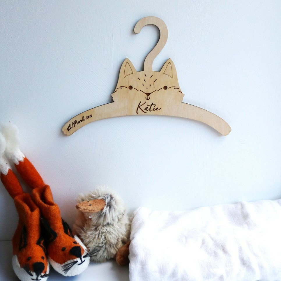 Little Fox Baby Coat Hanger