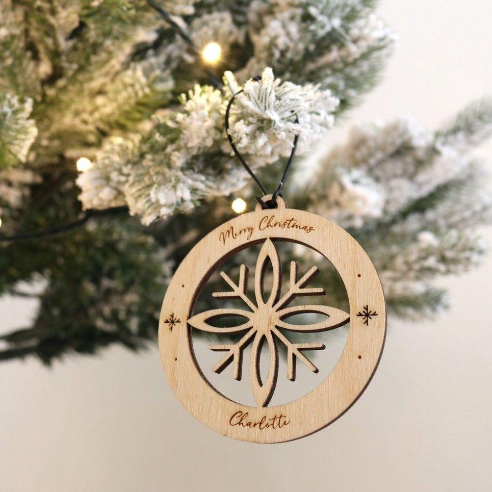 Snowflake Christmas Bauble