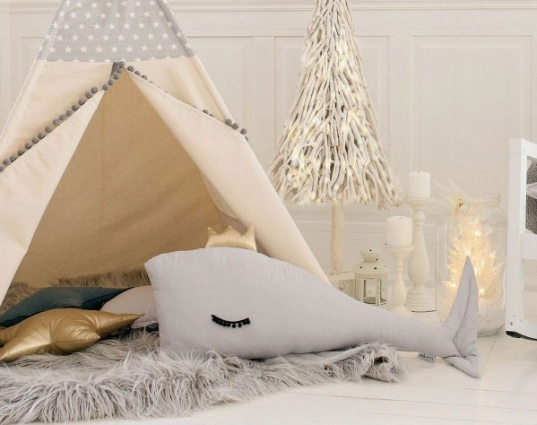 Gray Whale Large Baby Cushion – 3