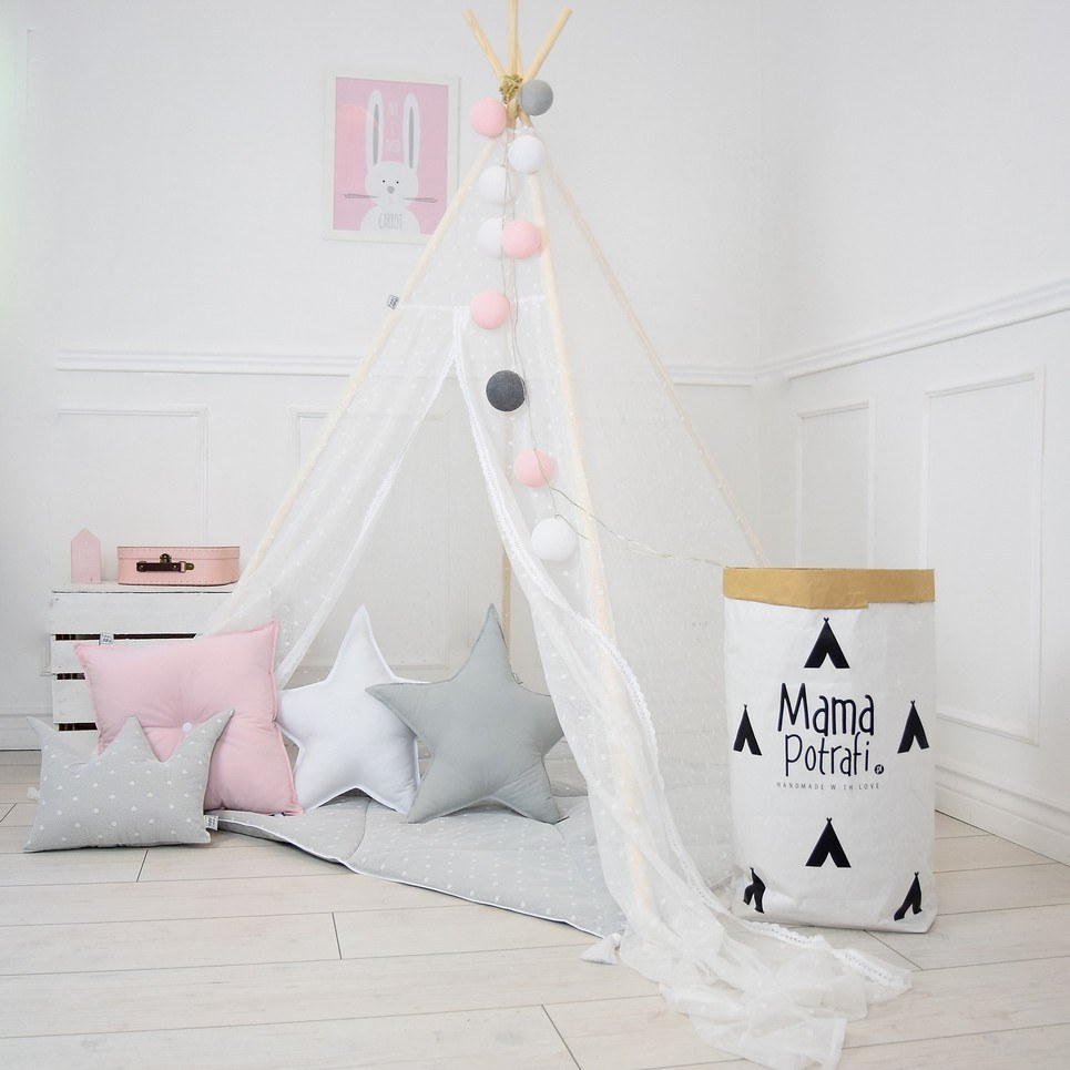 Summer Haze Children's Teepee Tent