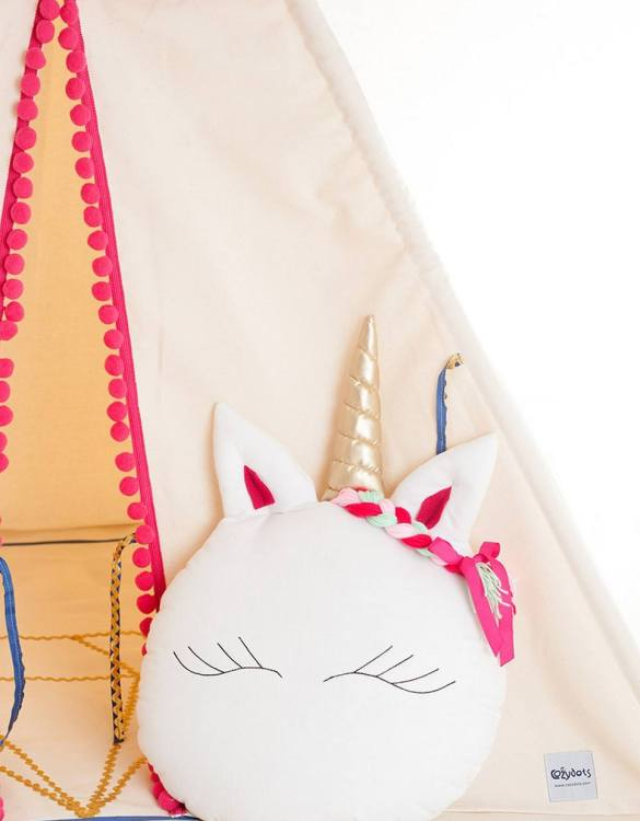 A unique way to show somebody just how much you care, the Sweet Unicorn Decorative Baby Cushion is a truly unique occasional gift for your favourite little person to treasure for the years to come.