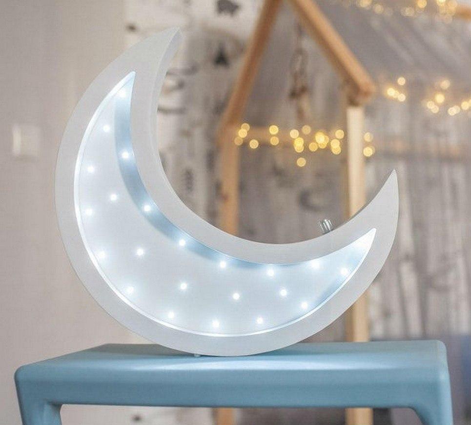 Half Moon Decorative Night Light – 6