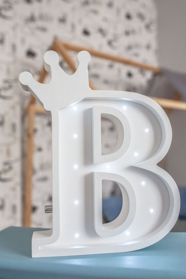 Letter B Marquee Light Sign – 1