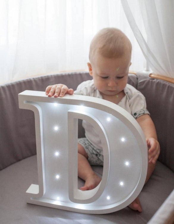 Certain to be a favourite in any family home the Letter D Marquee Light Sign creates a talking point which catches attention and expresses your passion for stand out design. Perfect for anyone who enjoys something a little different.