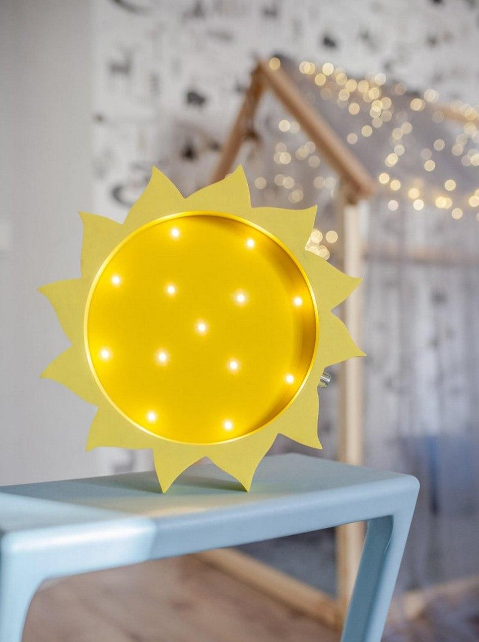 Sun Decorative Night Light – 3