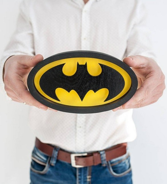 Confront the dark side and shine a light with the Mini Batman Night Light. Ideal for when you are feeling the light side more than the dark side, we love this kid's night light. Not only is it cute, but it also looks pretty cool too. Perfect for a kid's bedroom or maybe someone who is a big kid at heart.
