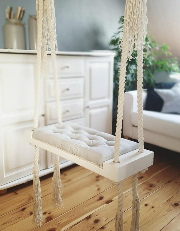 Whether you want it to take you to the moon or simply be a fun place to hang out, the Wooden Indoor Swing Grey offers great fun for toddlers. Every child loves to play on a toddler swing. This unique toddler wooden swing is beautifully handsaw and an absolute classic. This wooden swing set would also make a lovely gift and is ideal for smaller gardens.