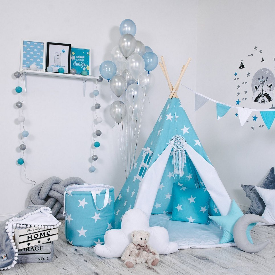 Child's Teepee Set Angel's Star