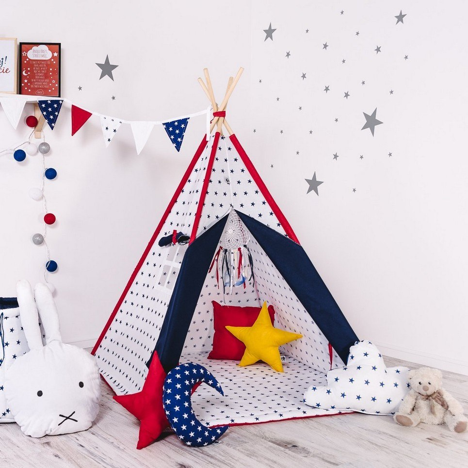 Child's Teepee Set Stardust