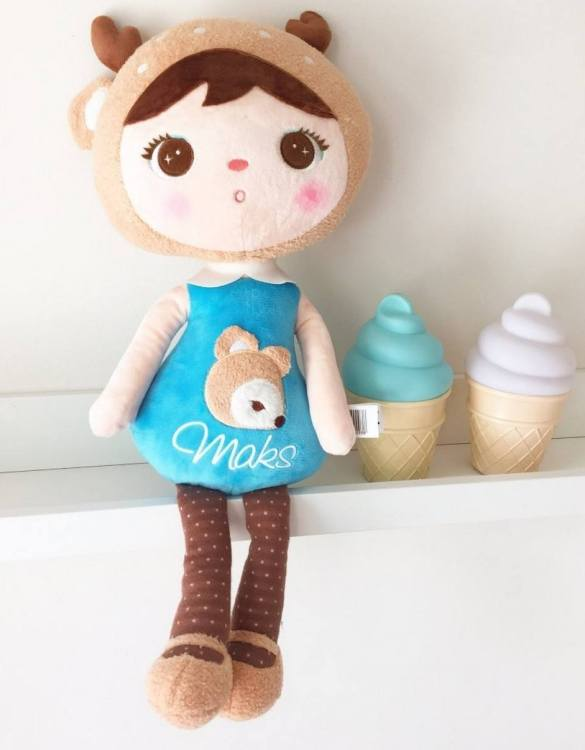 Perfect to capture the essence of an idyllic childhood, the Personalised Fawn Mint Koala makes the perfect gift for your little one. This personalised baby doll is a really popular gift for little girls and is suitable for newborn babies too.