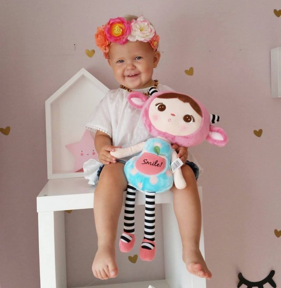 Personalised Smile Mint Doll