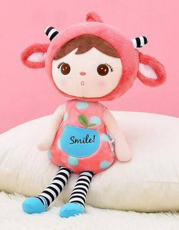 Perfect to capture the essence of an idyllic childhood, the Personalised Smile Strawberry Koala makes the perfect gift for your little one. This personalised baby doll is a really popular gift for little girls and is suitable for newborn babies too.