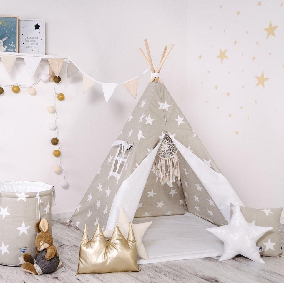 Child's Teepee Set Cookie Kingdom