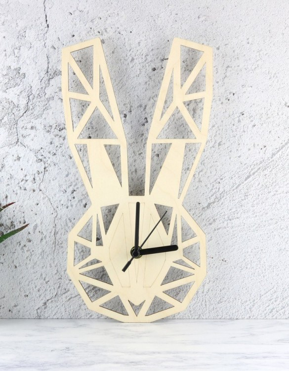 Can be hung up on a wall or placed on a shelf the Decorative Wall Clock - Geometric Lola Bunny will make learning to tell the time lots of fun for young children. This bedroom wall clock looks amazing on the wall of a daughter, son, grandchild, or godchild's playroom, bedroom or nursery.