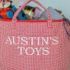 A practical home accessory for a child's bedroom, the Red Gingham Toy Storage Basket is the perfect storage solution for keeping those runaway toys, books, shoes or laundry at bay.