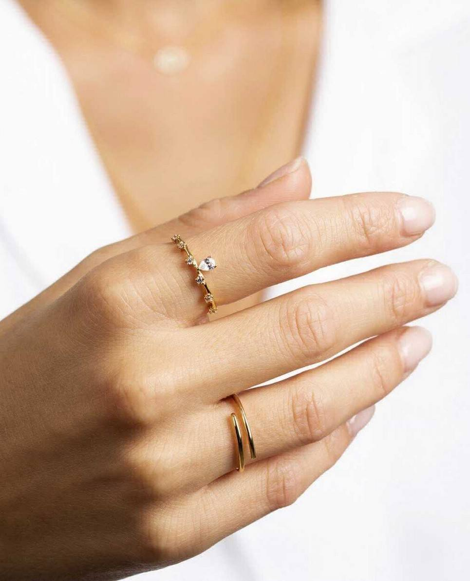 Sybille White Gold Ring