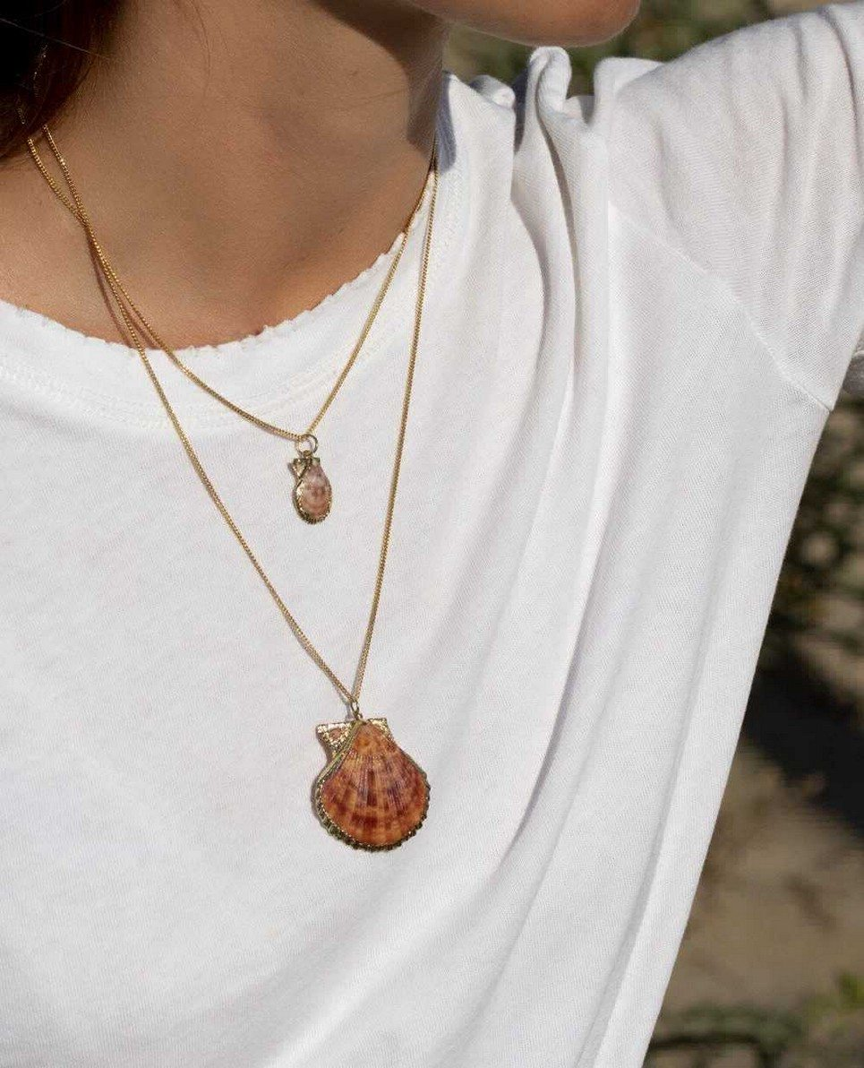 Mer Gold Necklace