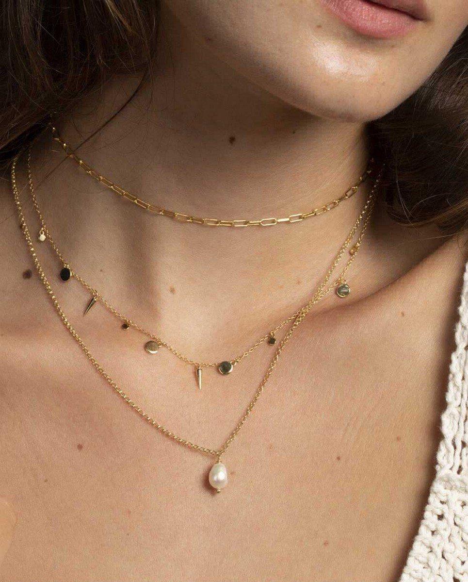 Neve Gold Necklace