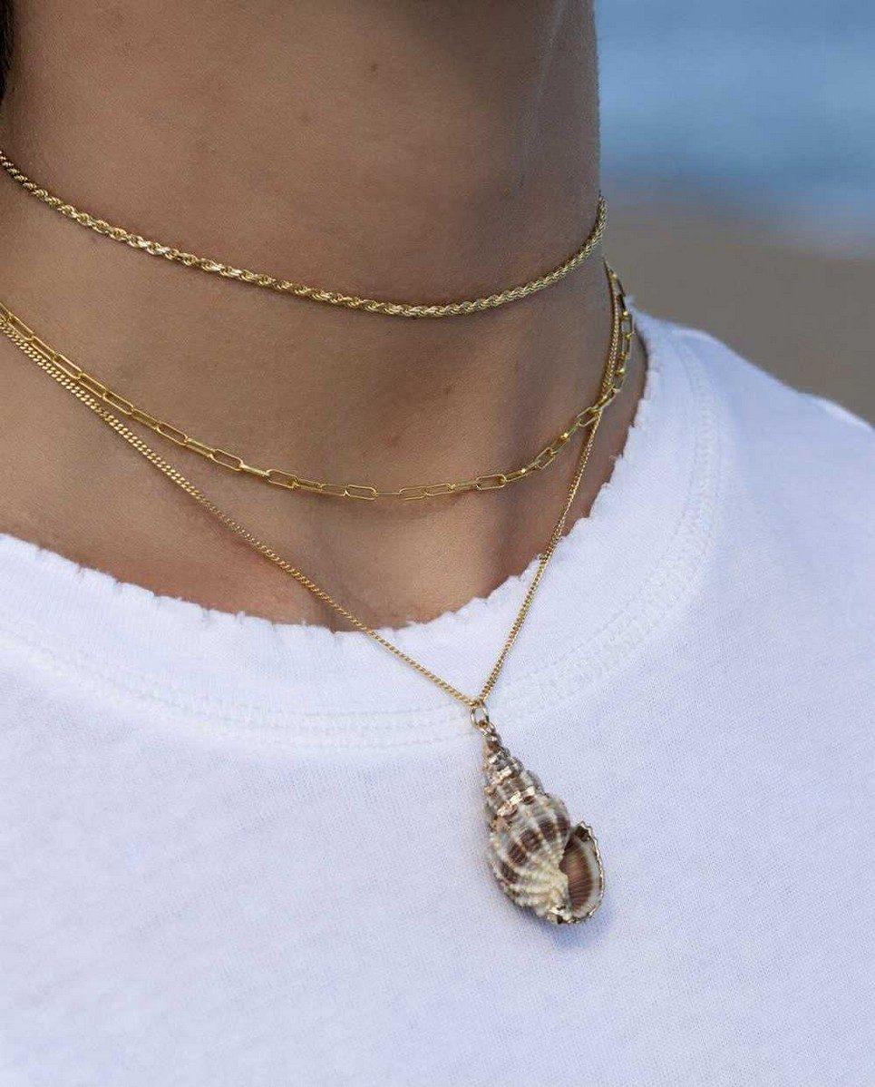 Roc Gold Necklace