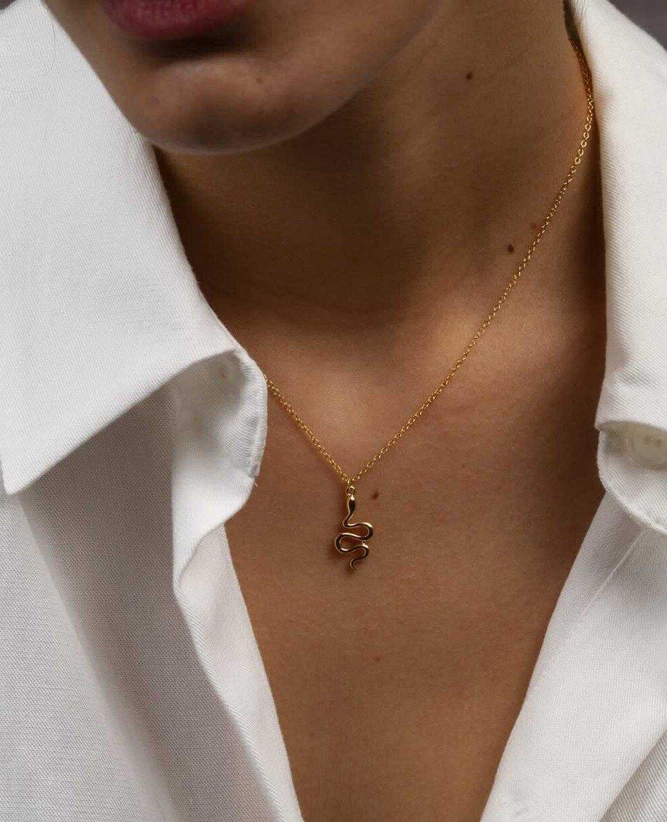 Vibora Gold Necklace