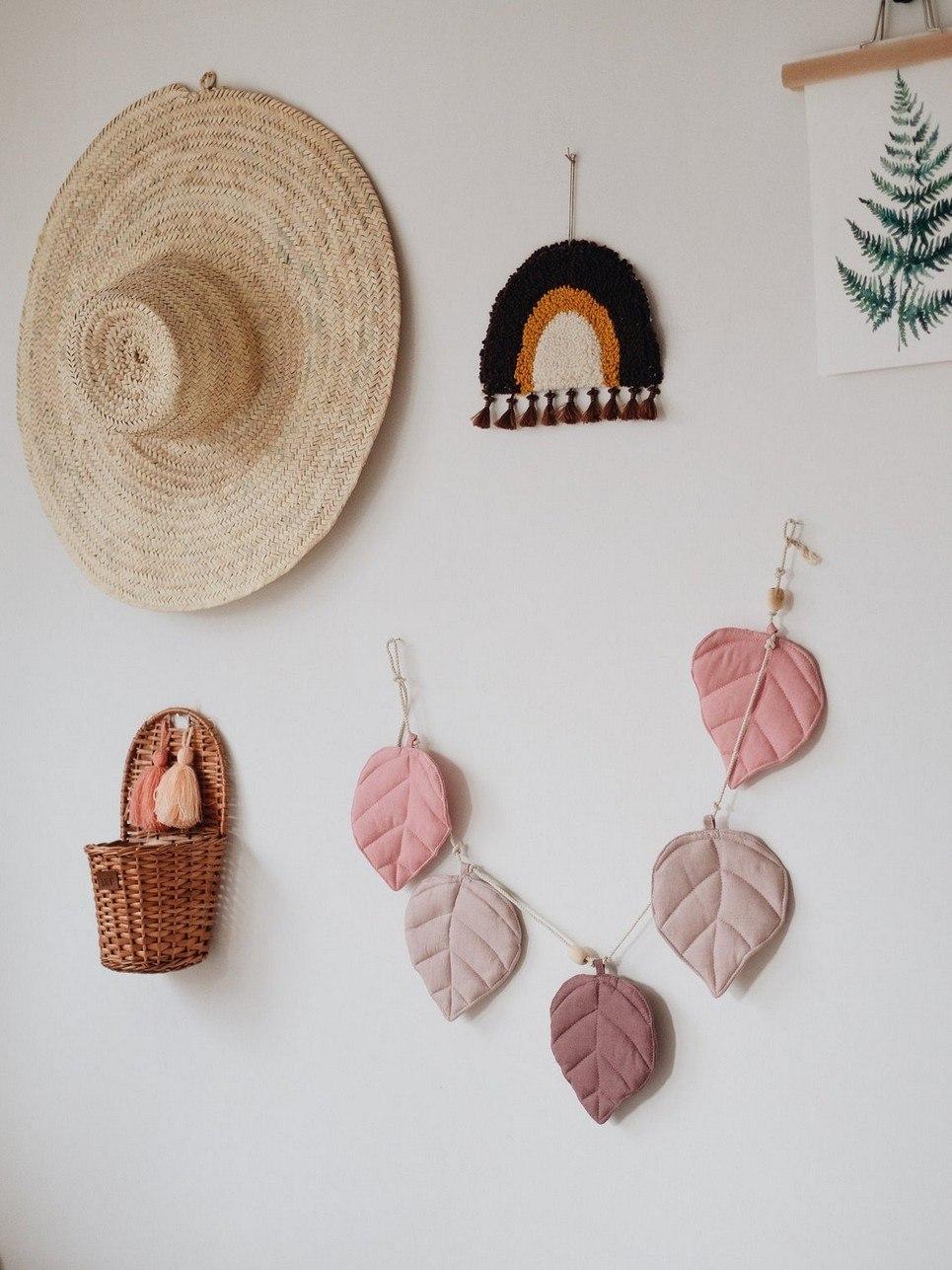 Pink Leaf Nursery Garland