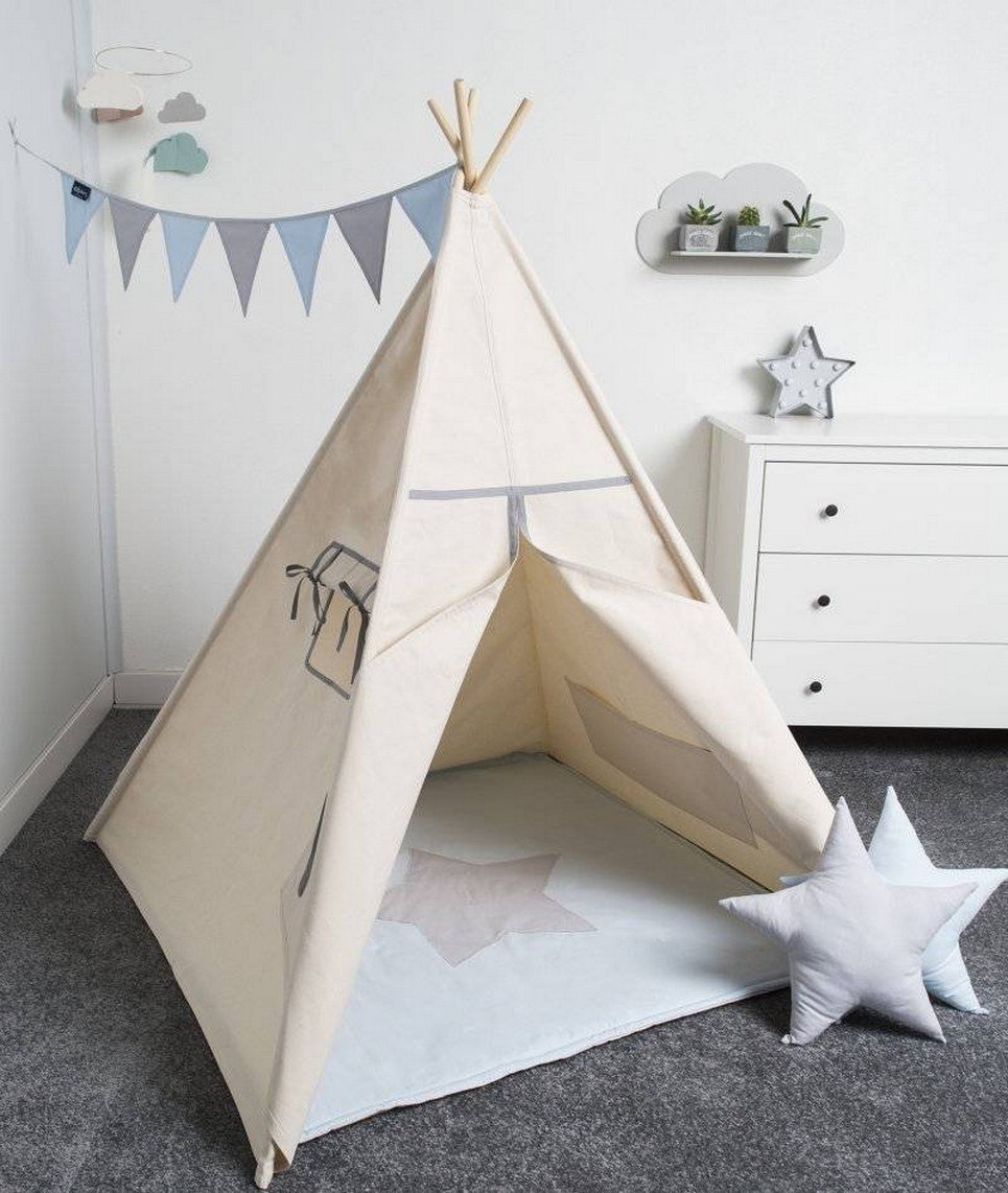 Basic Grey Children's Play Teepee