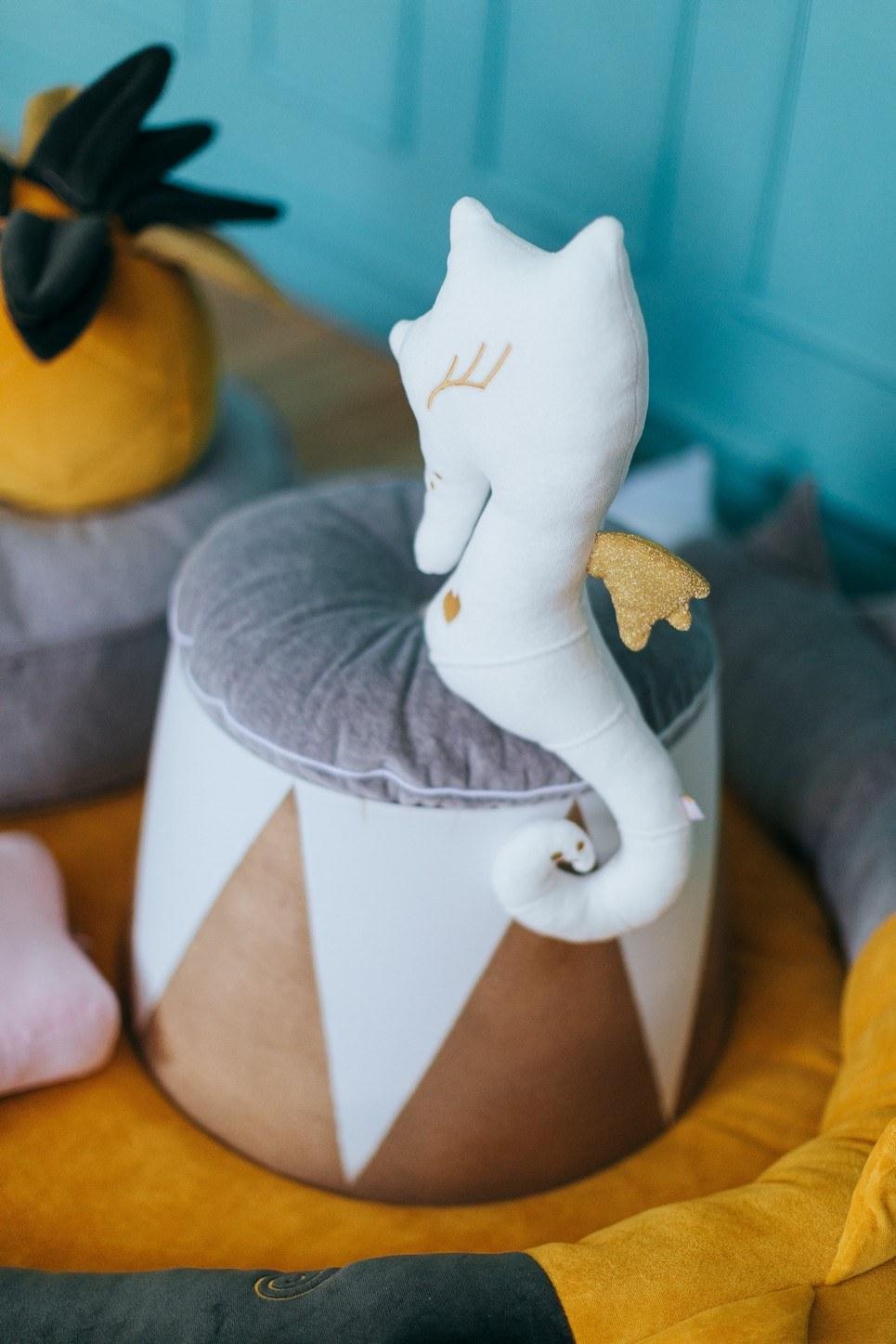 Darwin Sea Horse Children's Cushion