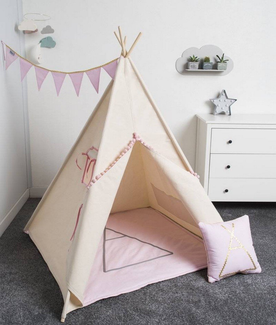 Gold Children's Play Teepee