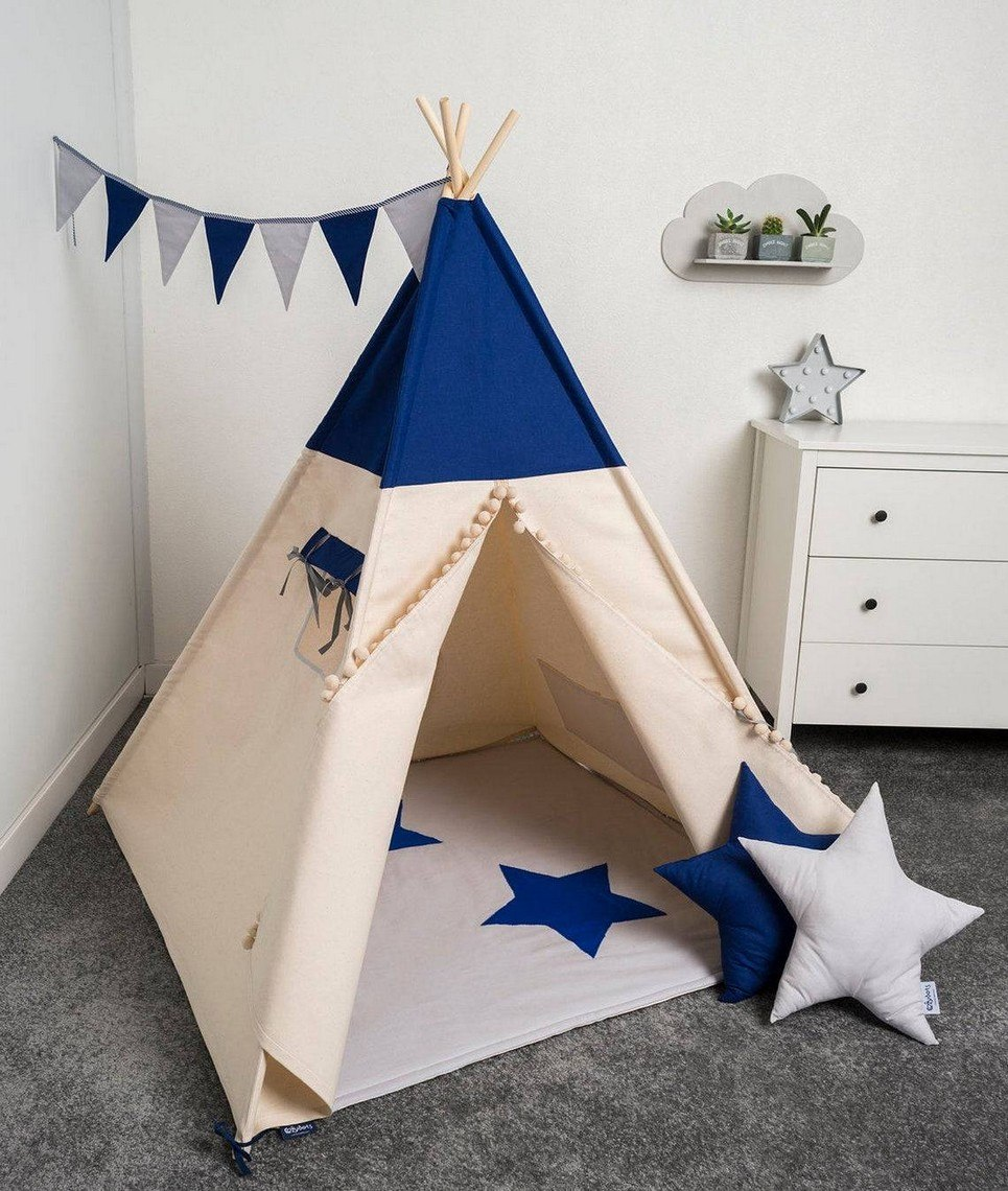 Just Blue Children's Play Teepee