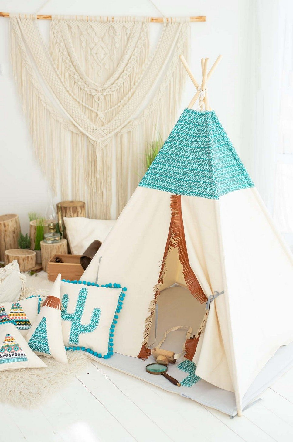 Mexican Children's Play Teepee